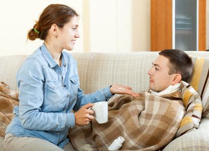Wie schütze ich mich vor Grippe?   - Symptome Grippe