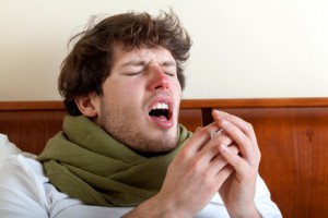 Grippesymptome Schnupfen